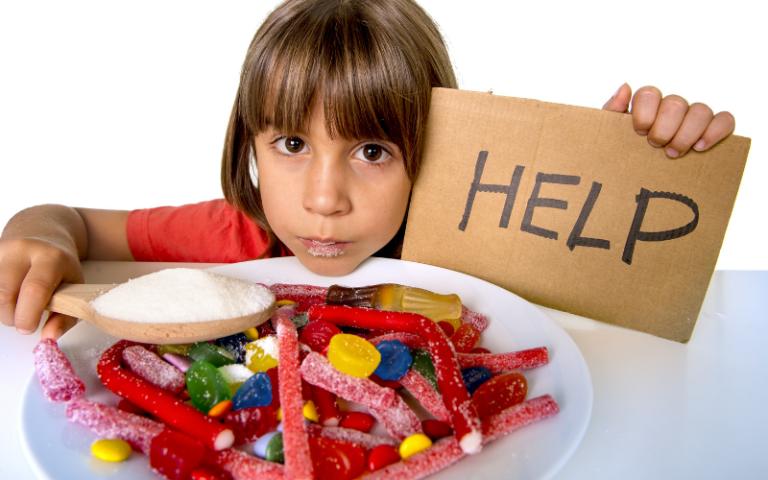 Kids eat too much sugar