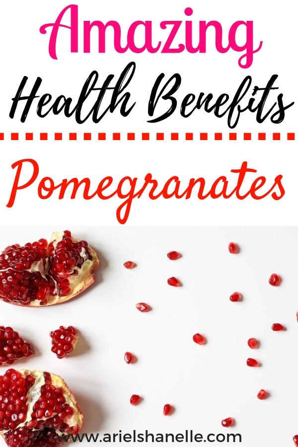Amazing health benefits of pomegranates