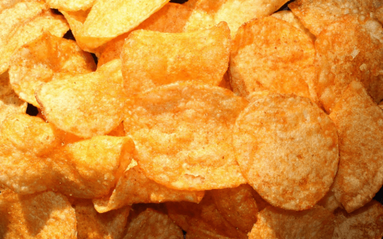 Chips contain MSG- one of the very harmful ingredients you should strive to stay away from!