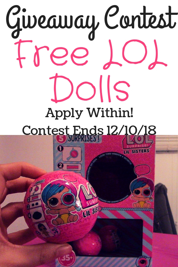 Free Lol Surprise Dolls Lil Sisters Eye Spy Series. Enter giveaway within.