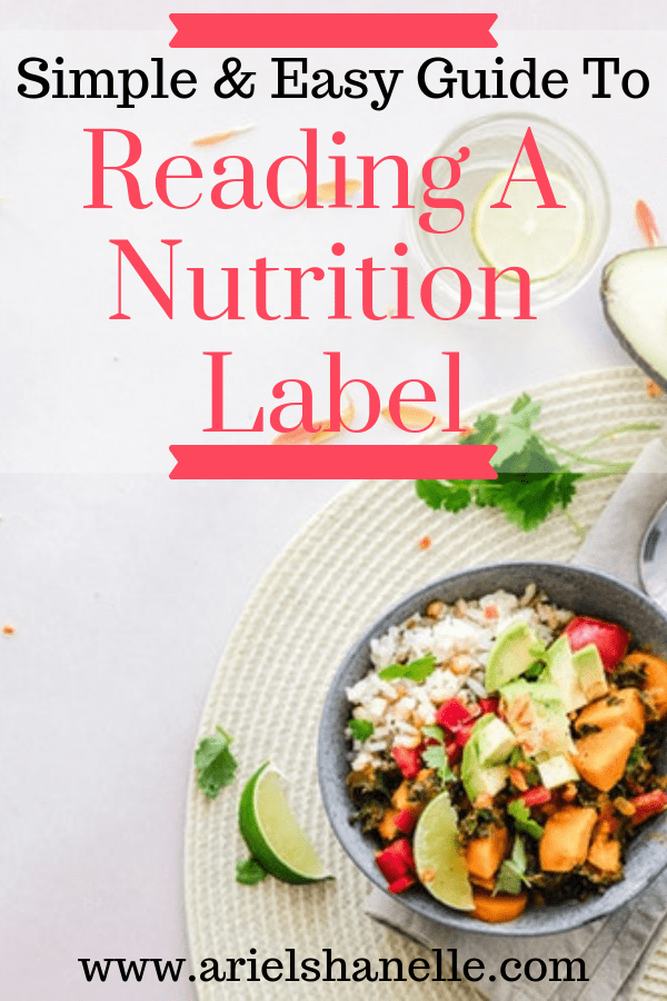 Tired of the overwhelm that comes with trying to eat healthy? I will teach you a simple and easy way to read the nutrition label to win your health back! | Healthy living | Nutrition