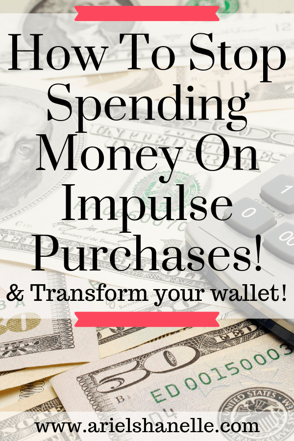 Are you tired of spending on impulse purchases? Check out these tips that will help you save your money and ignore the impulse! | Personal finances