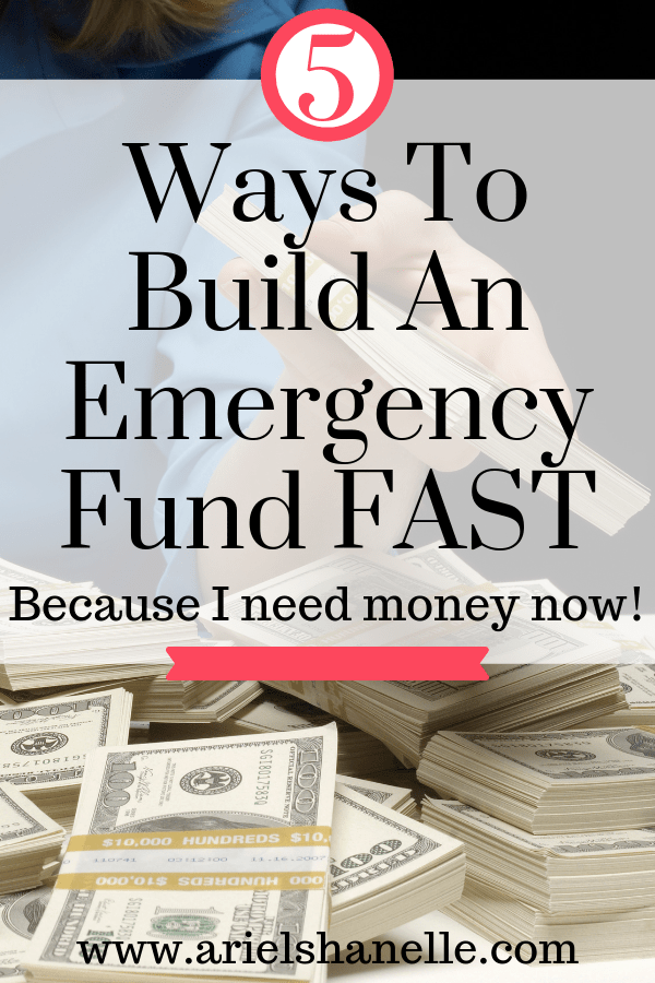 How to build an emergency fund fast | Personal Finance