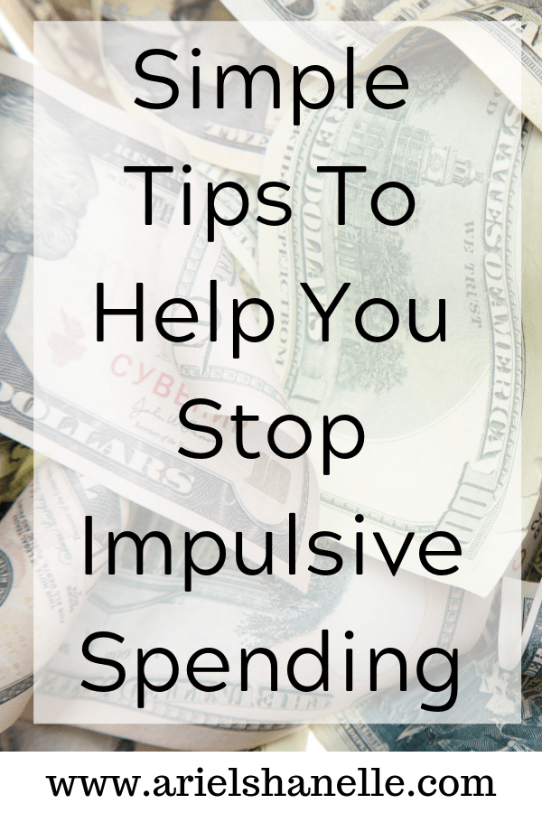 Simple tips to help you stop impulsive spending