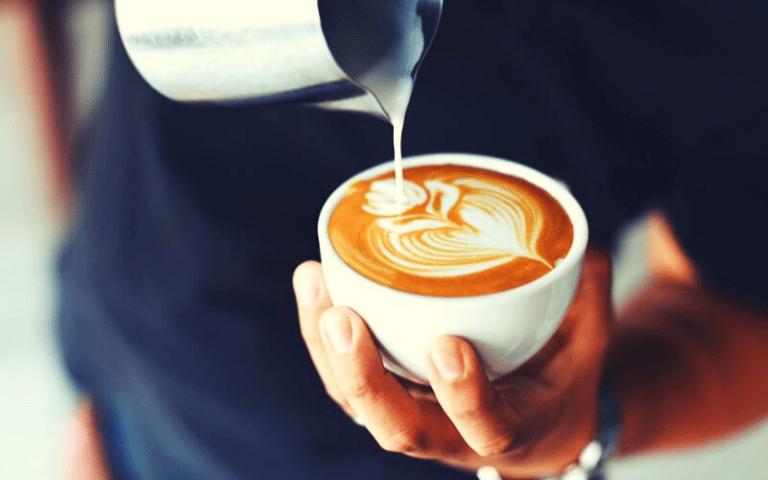 Cut your expenses in hald by making your own coffee at home.
