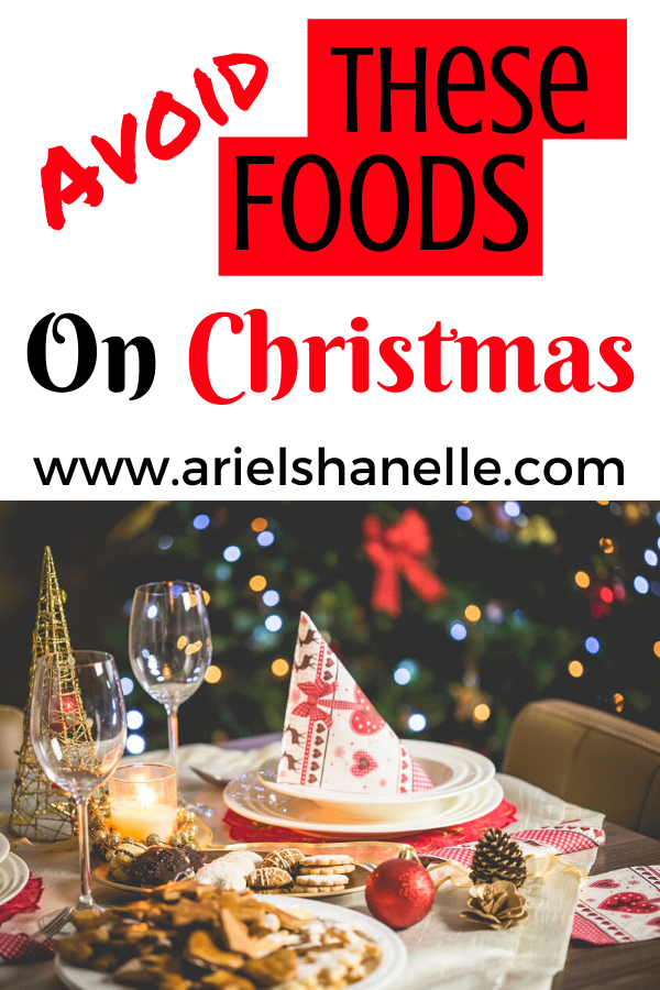 Avoid these foods this Christmas season