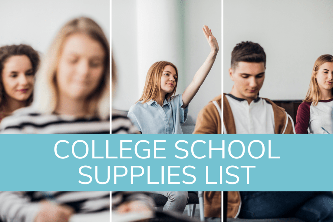 college school supplies list