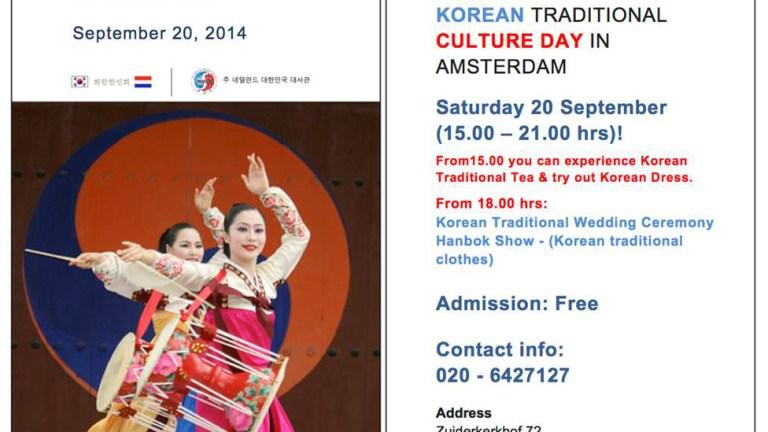 Korea Culture day 20-9