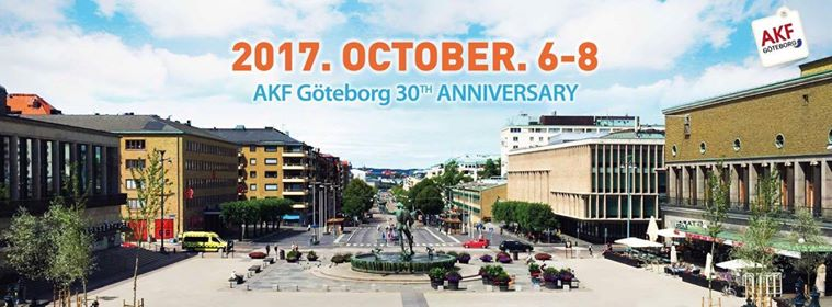 30th Anniversary – AKF Göteborg | 6 – 8 oktober 2017