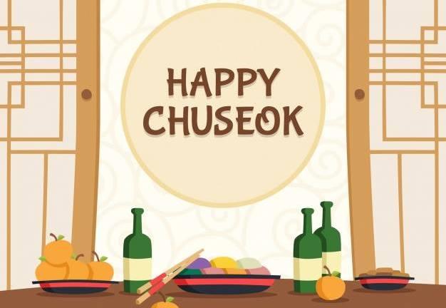 Chuseok zaterdag 17 november 2018