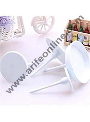 Cake Decor 4pcs Cake Flower Sugarcraft Nail Set Cupcake Ice Cream Decorating Handle Tools