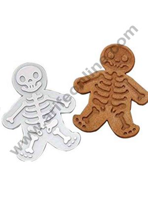 Cake Decor The Easiest Skull Cookies Ever Cutter/Stampers & Sweet Spirits Day of The Dead Cookie Cutter & Gingerdead Men Cookie Cutter