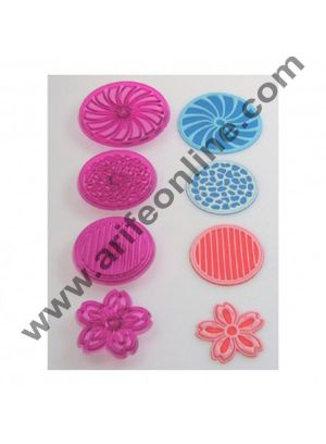Cake Decor 3D Creative Design Plunger Cutters, Set of 4