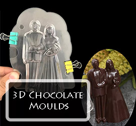 3D Chocolate Moulds