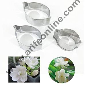 Cake Decor 3 Pcs Jasmine Flower Petal Cutter Set Bakeware Mould Biscuit Mould Set Sugar Arts Fondant Cake Decoration Tools