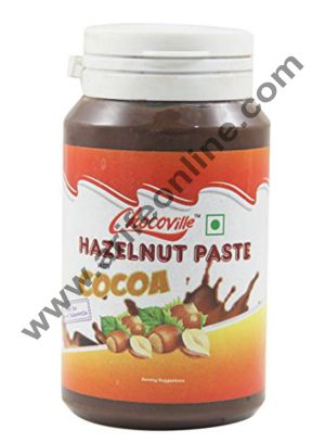 Chocoville Hazelnut Paste With Cocoa, (200gm)
