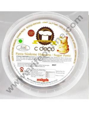 C Deco Sugar Paste (Fondant)-Brown 200 GRM