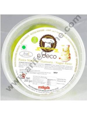 C Deco Sugar Paste (Fondant)-Light Green 200 GRM