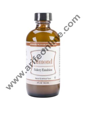LorAnn Oils Bakery Emulsions Natural & Artificial Flavor 4 oz - Almond