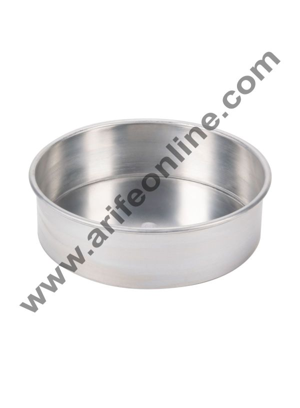 Cake Decor Round Aluminum Cake Mould Thali 8in x 2in 1
