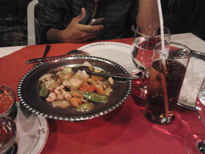 Stir Fried Shrimp Vegetables