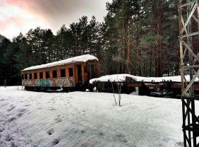 EI Canfranc 7 – Tren abandonat