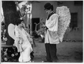 Screenshot from The Kid (original cut from 1921) - Dreamland scenes (3)