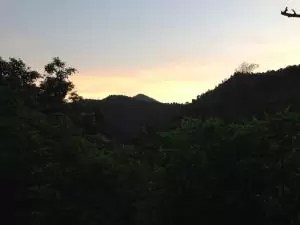 Sunset di perbatasan Bandung - Garut