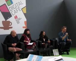 Digital Cafe Panel with Martin Salisbury