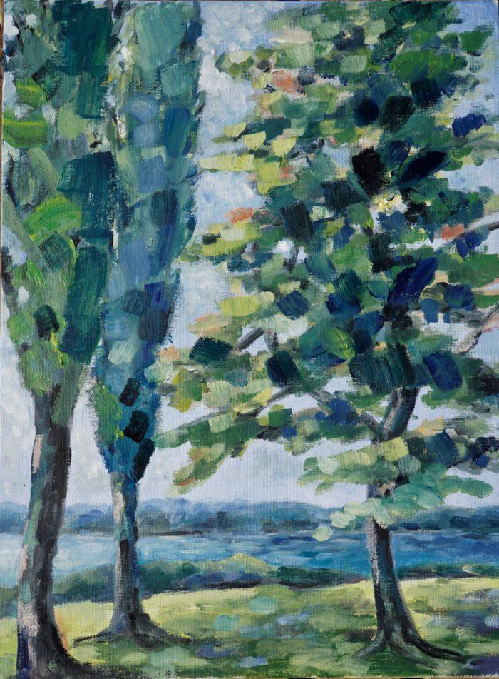 Bäume am See – Arijana-2020