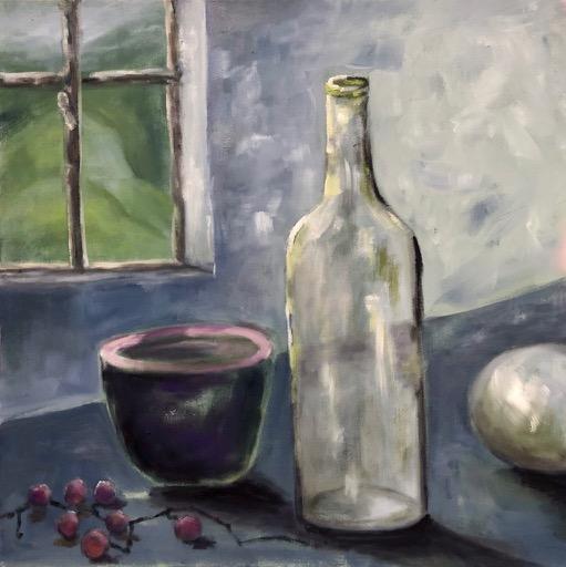 Flasche mit Trauben – Arijana-2021