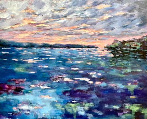 Sonnenhimmel überm See – Arijana-2021
