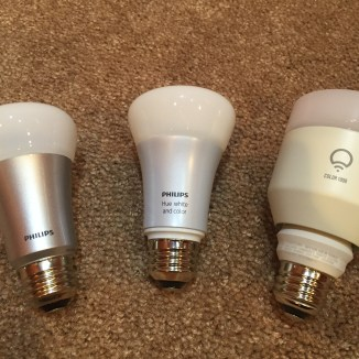 TESTED: An EPIC Comparison of Smart Light Bulbs — Philips Hue ...