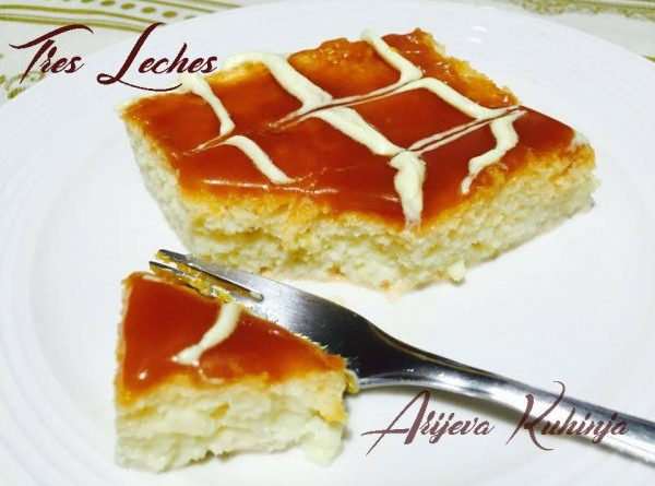 Tres Leches-kolač tri mlijeka