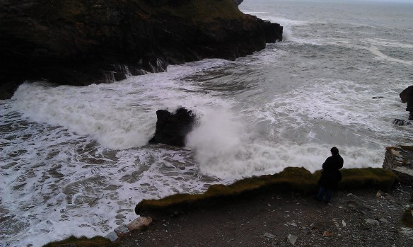 Waves at Tintagel