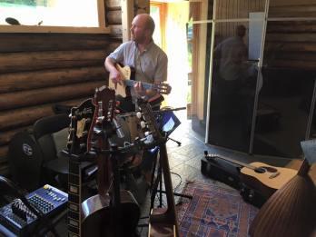meg i studio