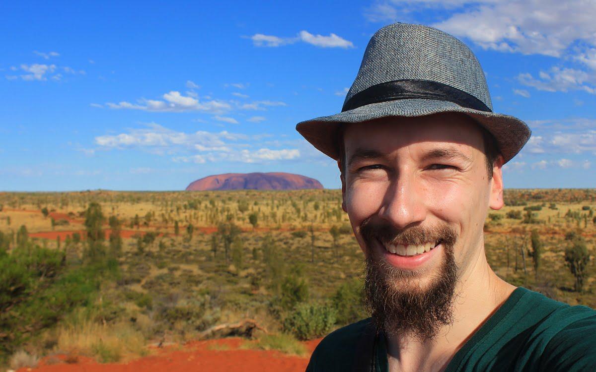 Arimo Koo at Uluru