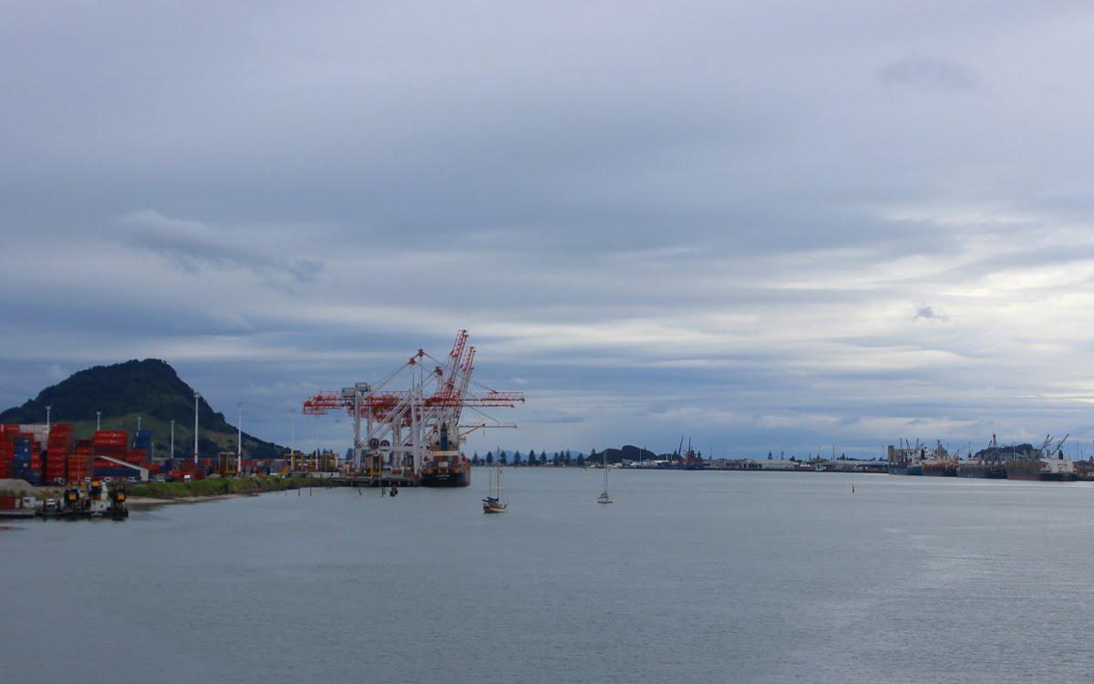 Port of Tauranga, New Zealand
