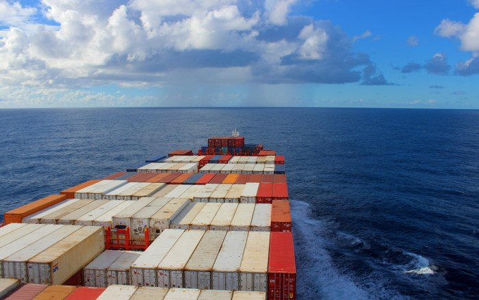 Crossing the Pacific on a Cargo Ship