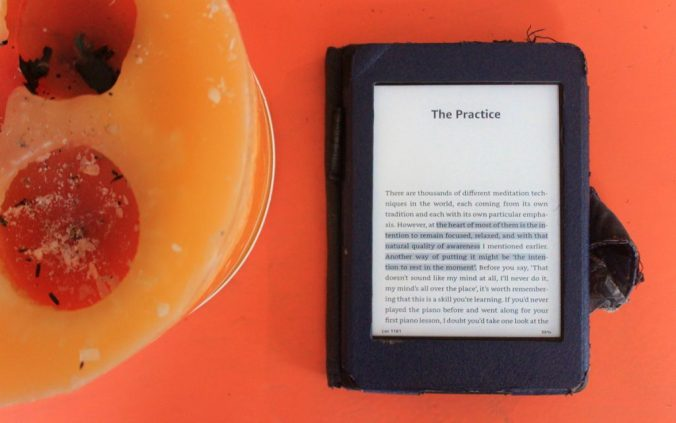 Headspace book on Amazon Kindle Paperwhite. Get Some Headspace book review.