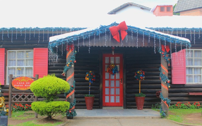 Casa de Papai Noel (House of Santa Claus) in Penedo, Itatiaia.