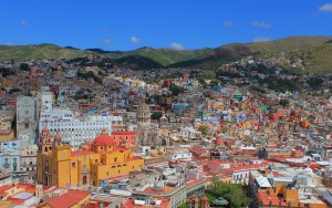 A view of Guanajuato from Pipila Hill.