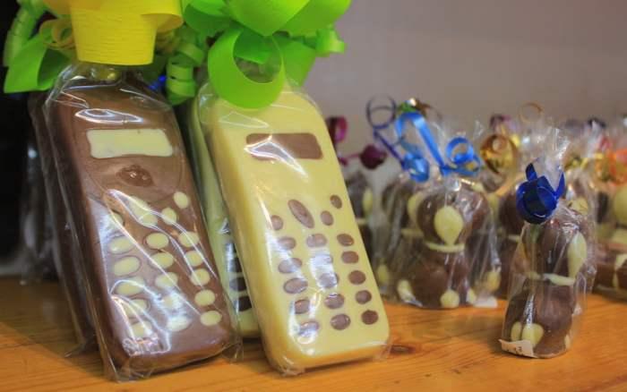 Tonttulakki Suklaat Belgian chocolate in Little Finland of Penedo, Brazil.