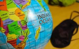 Choosing a random destination by hitting the globe.
