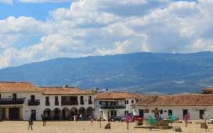Villa de Leyva town square, Colombia