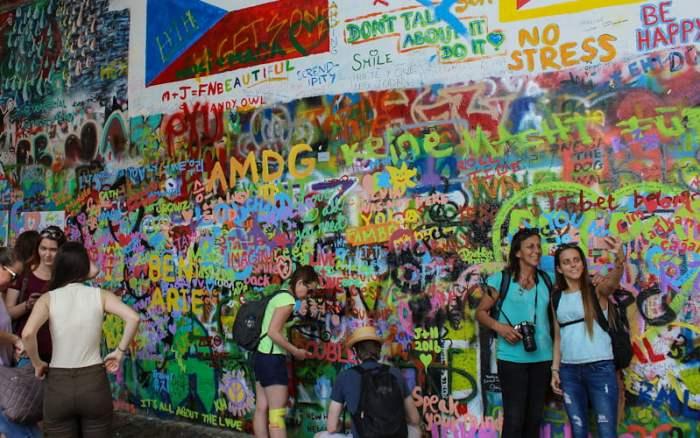 John Lennon Wall, Prague in 2016