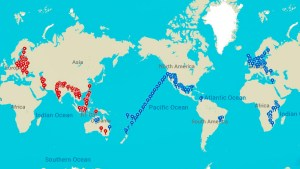 My full route around the world (May 14, 2016 – July 1, 2018)