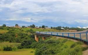Overland travel blog. Overland train travel in Africa.