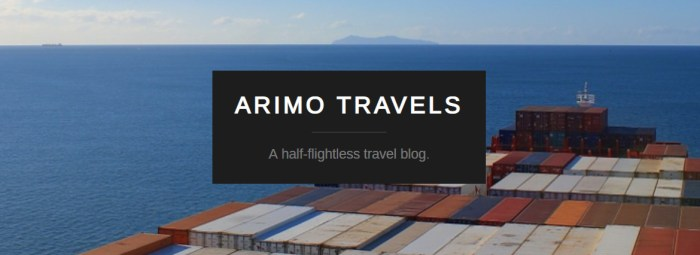 Half-flightless travel. Sustainable Travel Blog