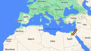 Getting from Europe to Africa overland